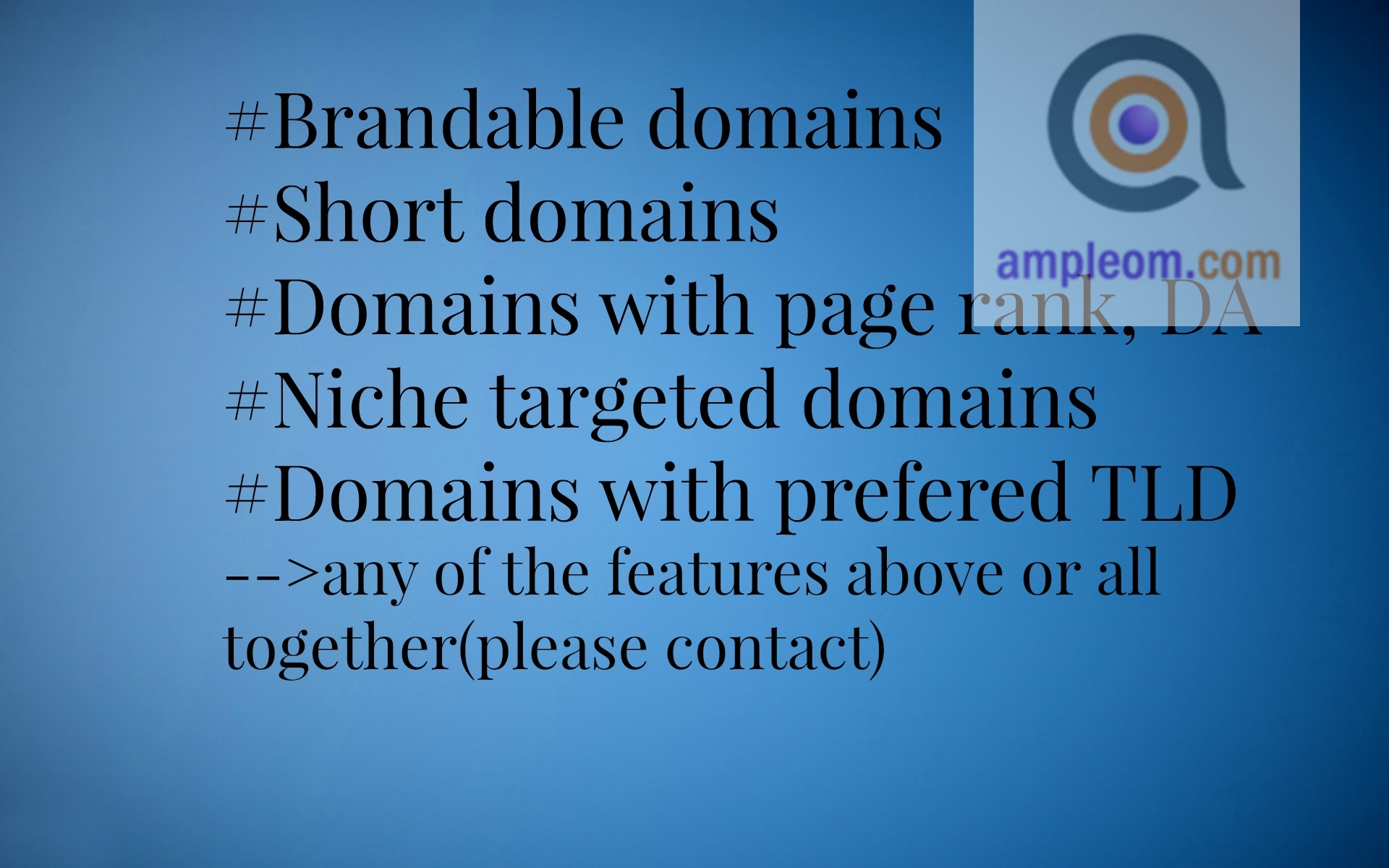 brandable pronounceable short domain research