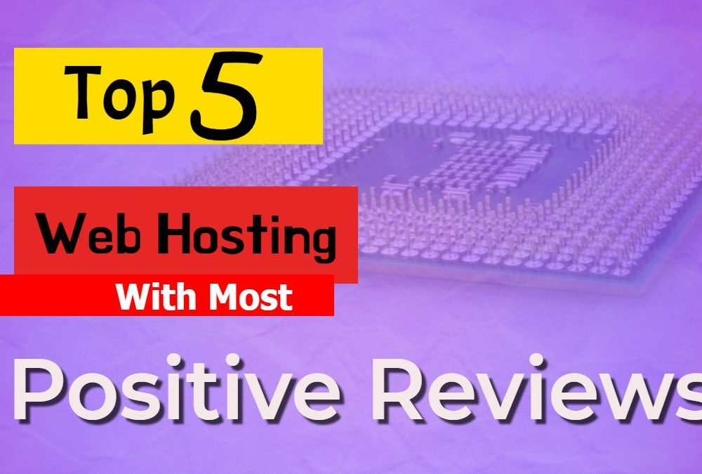 Top 5 hosting reviews
