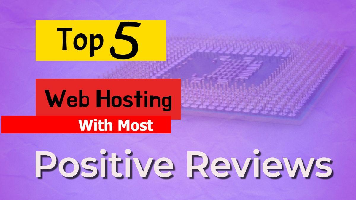 Top 5 hosting reviews