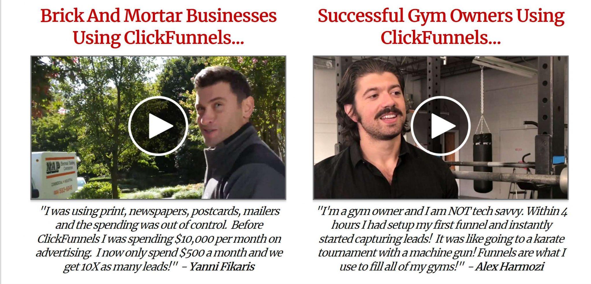 ClickFunnels Testimonials