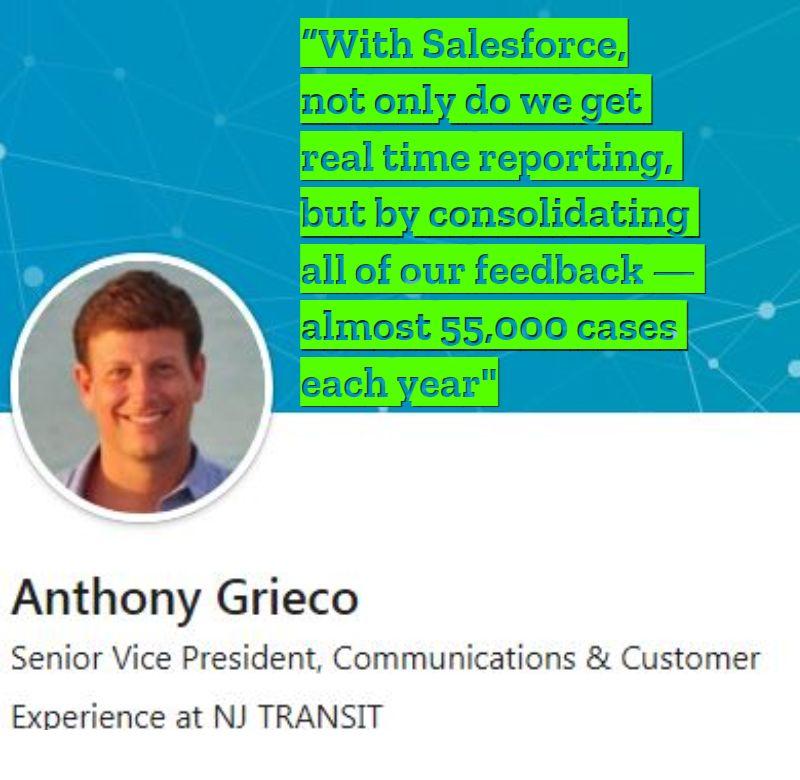 Salesforce crm testimonial