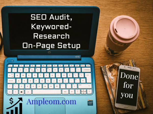 SEO audit, keyword research service