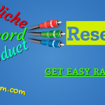 Easy rankable keyword research, niche, product research